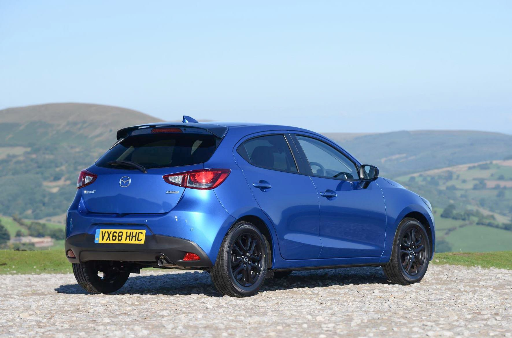 Mazda2 Blue rear