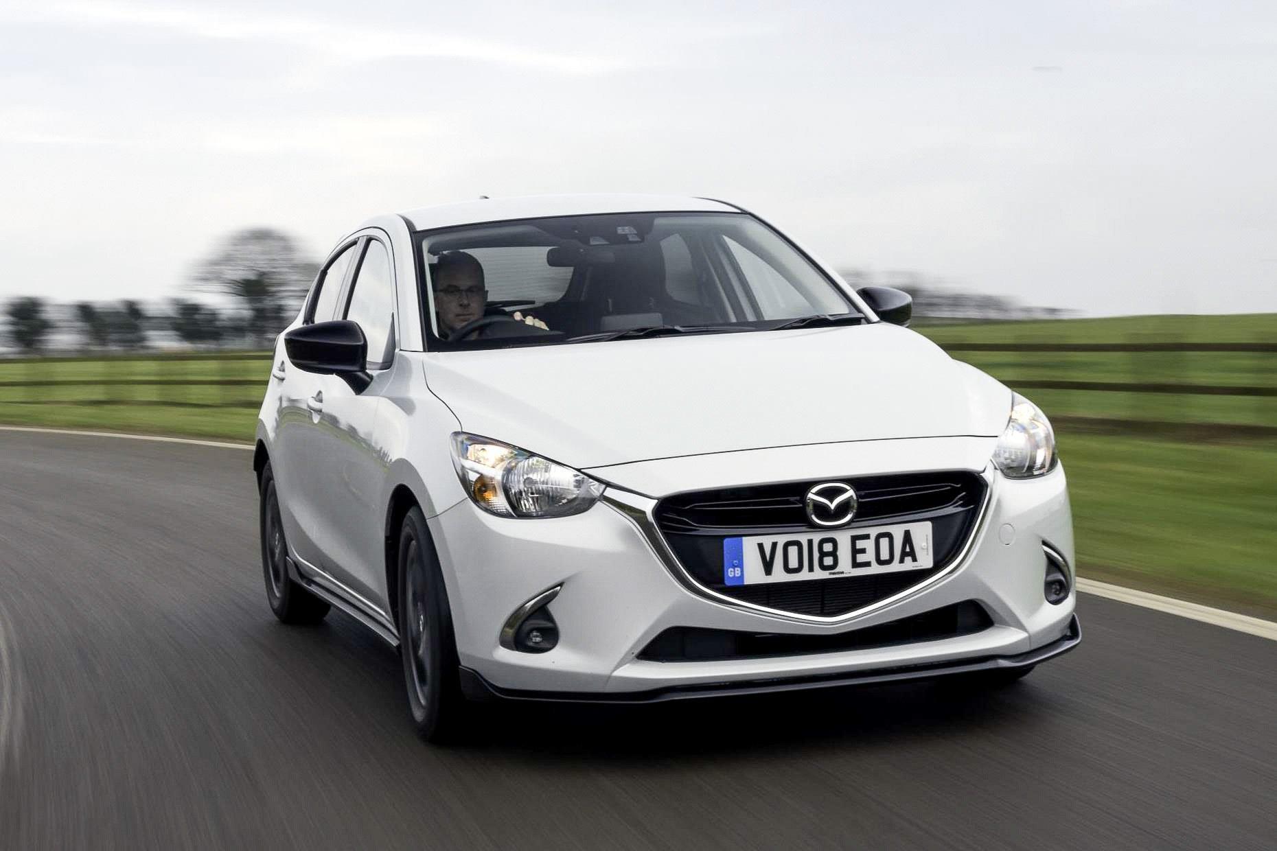 Mazda2 white front