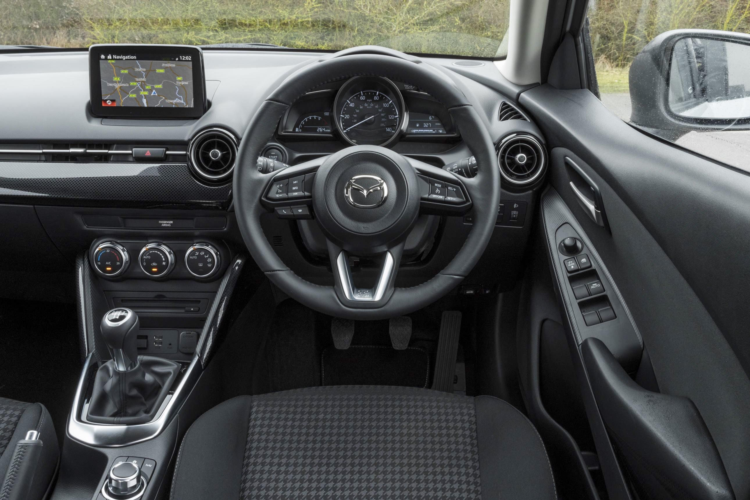 Mazda2 Dash and infotainment