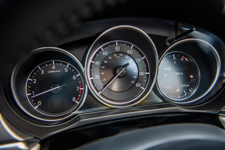 Mazda6 clockset