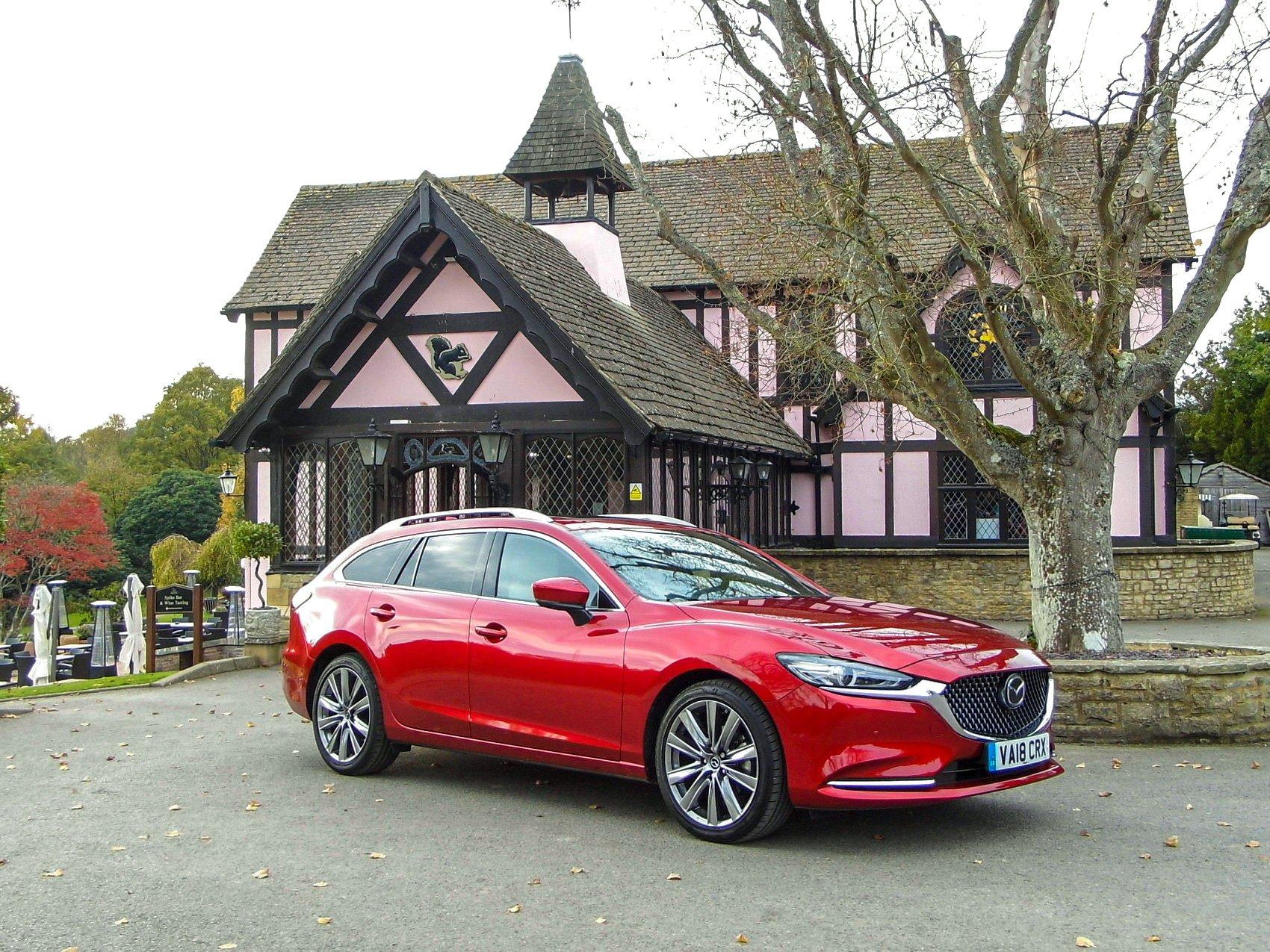 Mazda6 Estate side