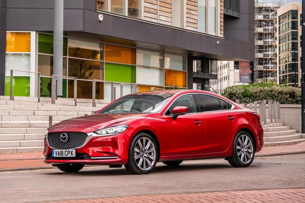 Mazda6 saloon side