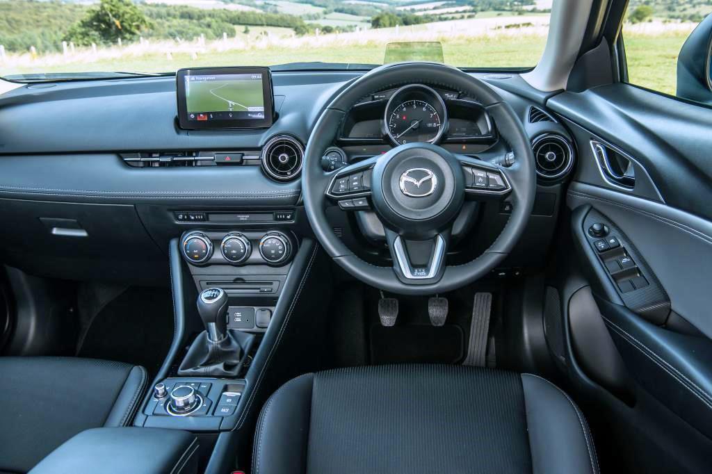 Mazda CX-3 Dash