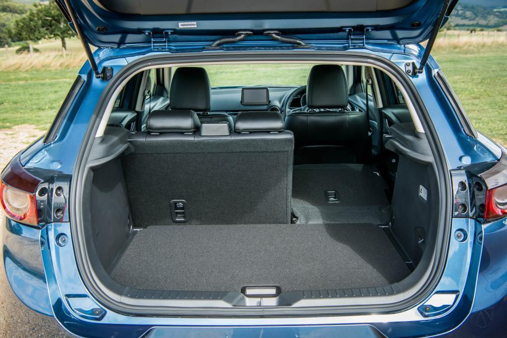 Mazda CX-3 rear boot and luggage area