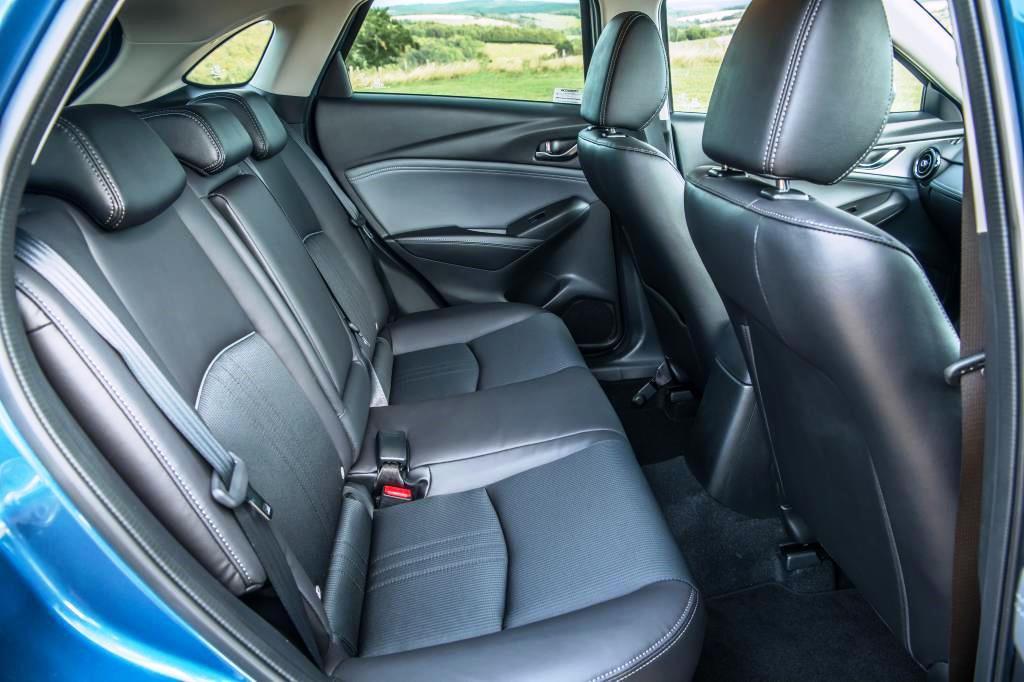 Mazda CX-3 rear seat