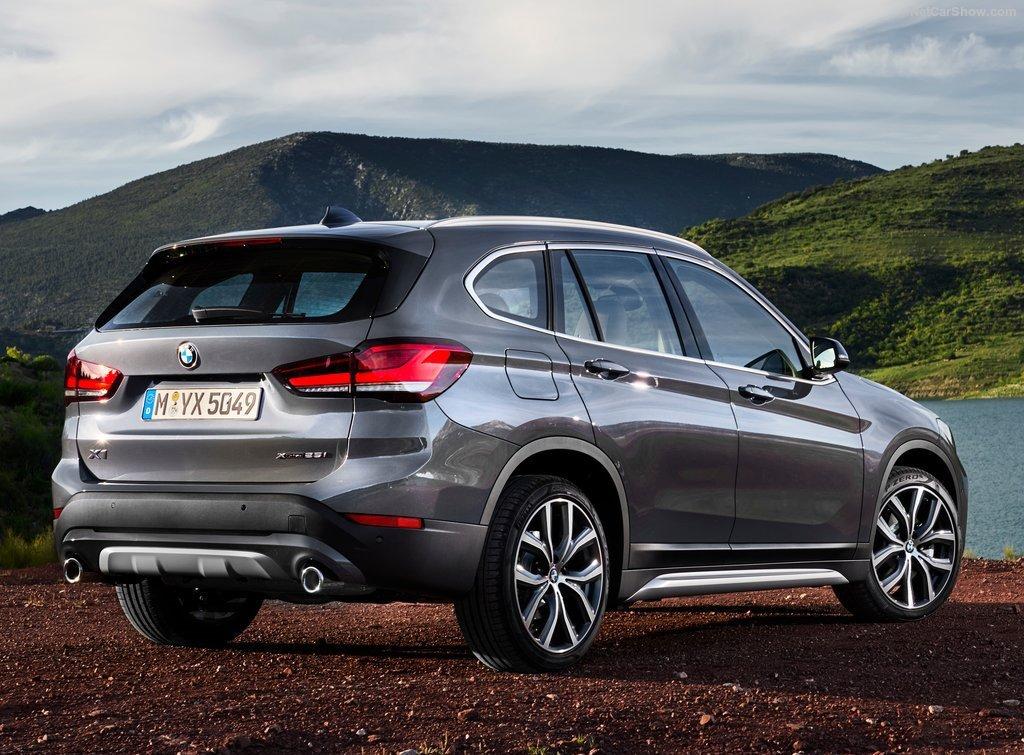 BMW X1 Rear Quarter