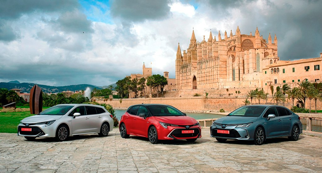 Toyota Corolla Line up