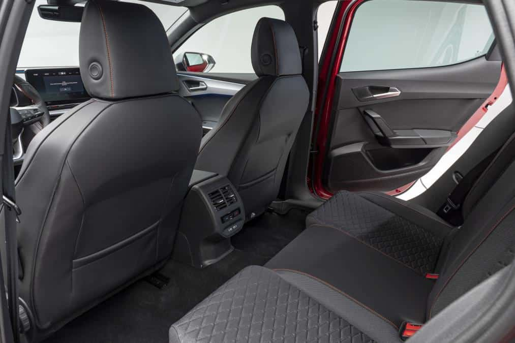 2020 Rear Seats