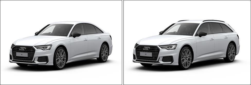 2019 Audi A6 Black Edition Saloon and Avant