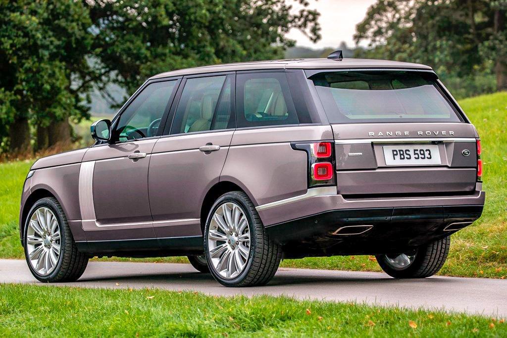 2019 Range Rover mild-hybrid