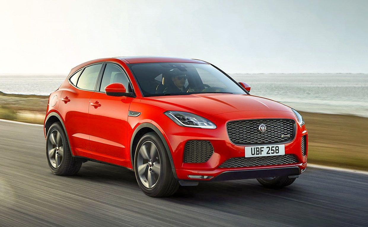 2019 Jaguar E-Pace Chequered Flag edition