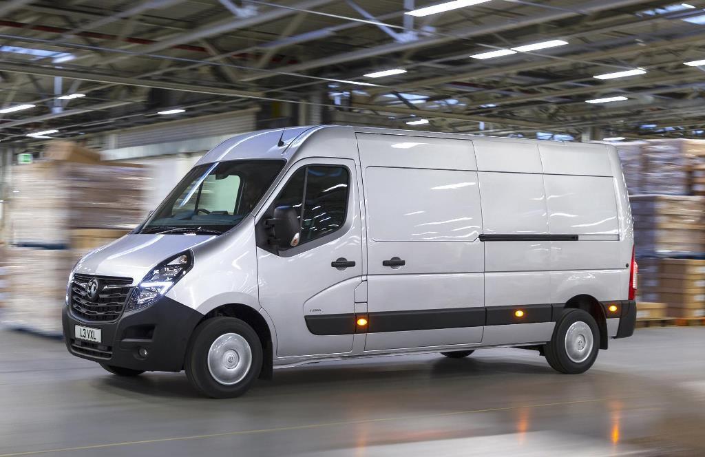 2019 Vauxhall Movano van
