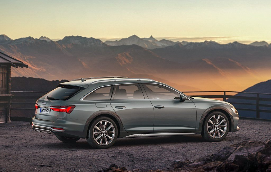 A6 Allroad Side