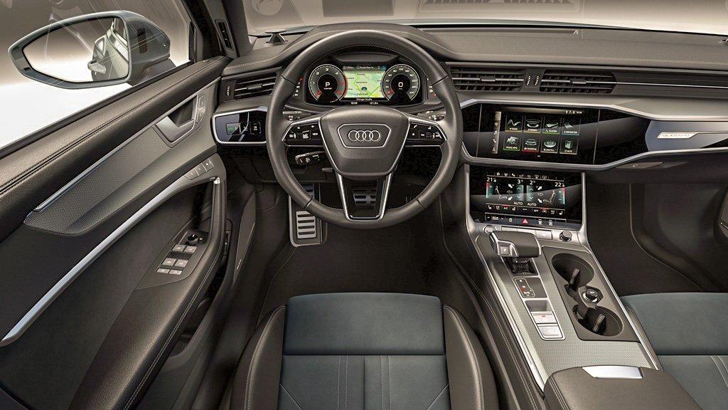 A6 Allroad interior