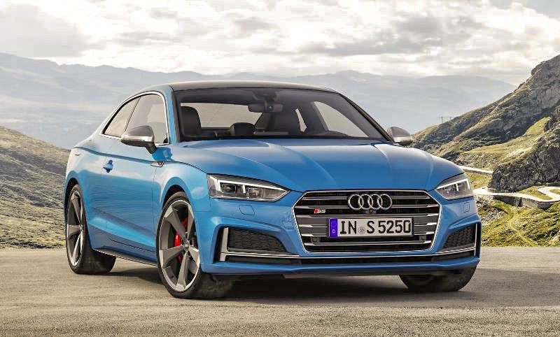 Audi has introduced cleaner diesel power with hybrid technology to the sporty S5 Coupé and Sportback models.
