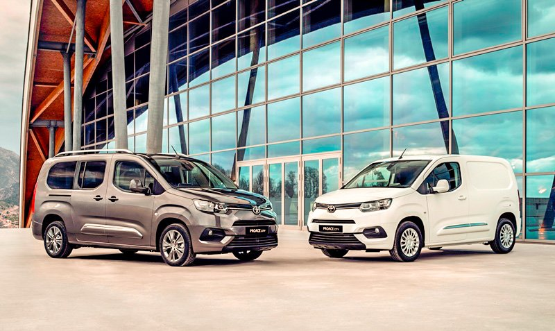 Toyota will give its Proace City compact panel van its world debut at the CV Show in Birmingham on April 30.