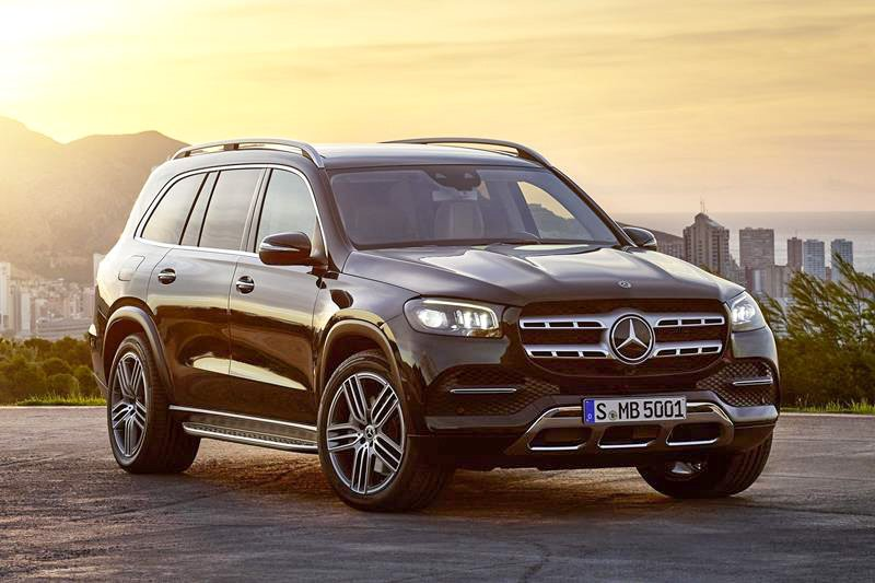 This is the new Mercedes GLS – dubbed the S Class of SUVs. Merc's gargantuan flagship SUV has space for seven adults, four-wheel drive as standard and comes loaded to the gunwales with tech.