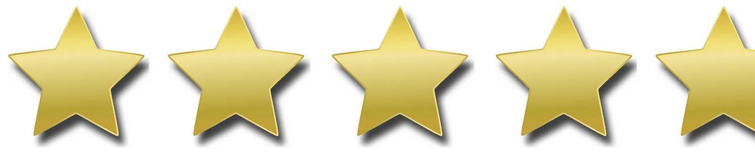 4 and three quarter stars