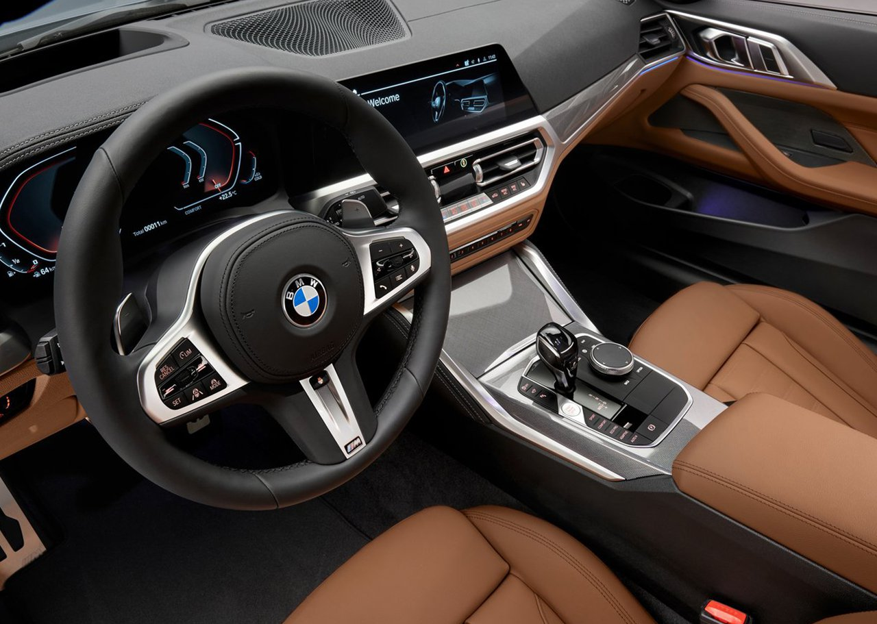 BMW 4 Series Dashboard