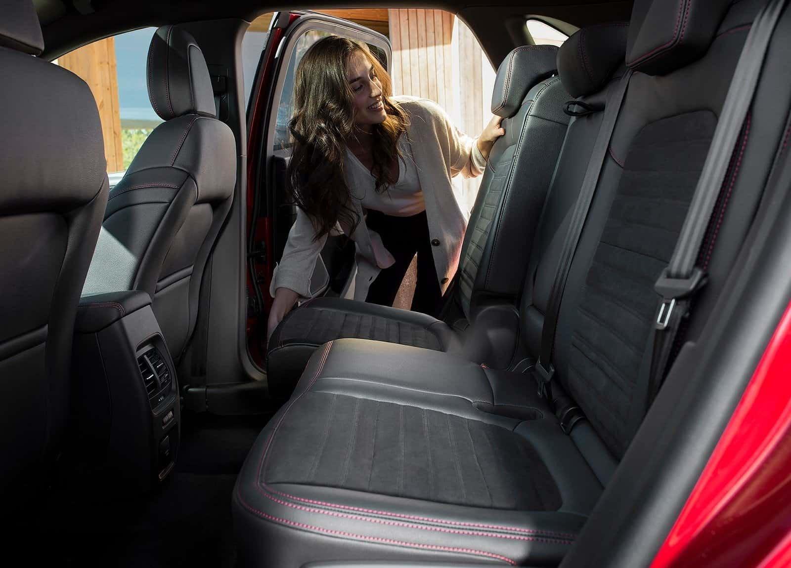 Ford Kuga Sliding Rear Seats