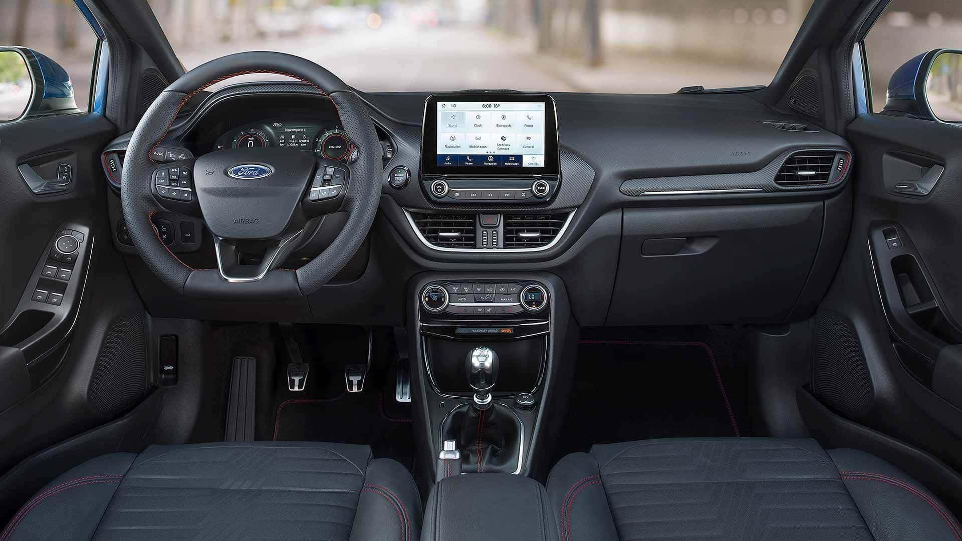 Ford Puma Cabin