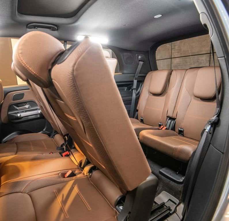 GLB Rear Seats