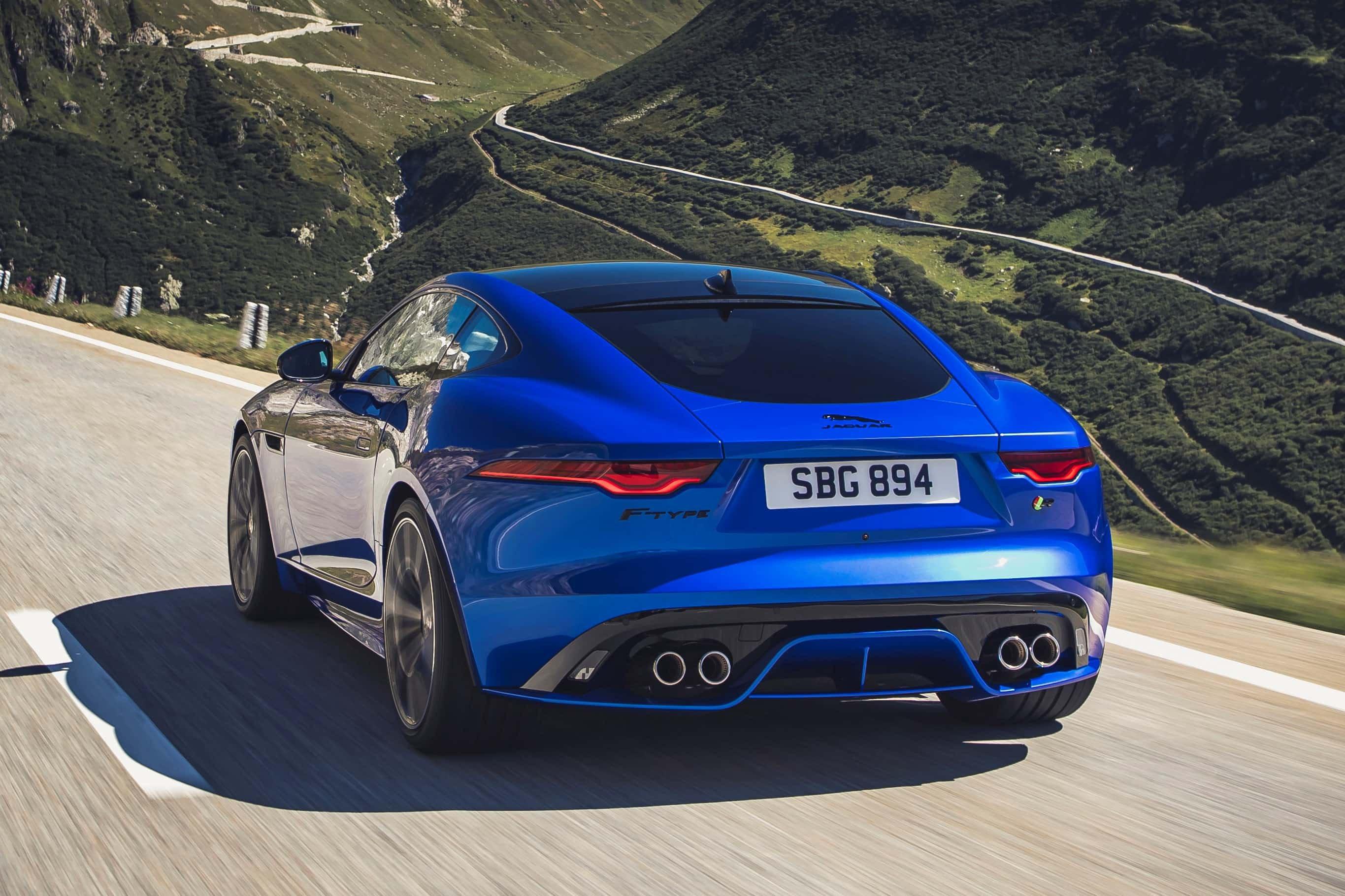 2020 Jaguar F-Type Rear