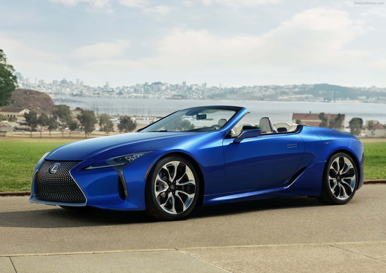 LC500 Front View