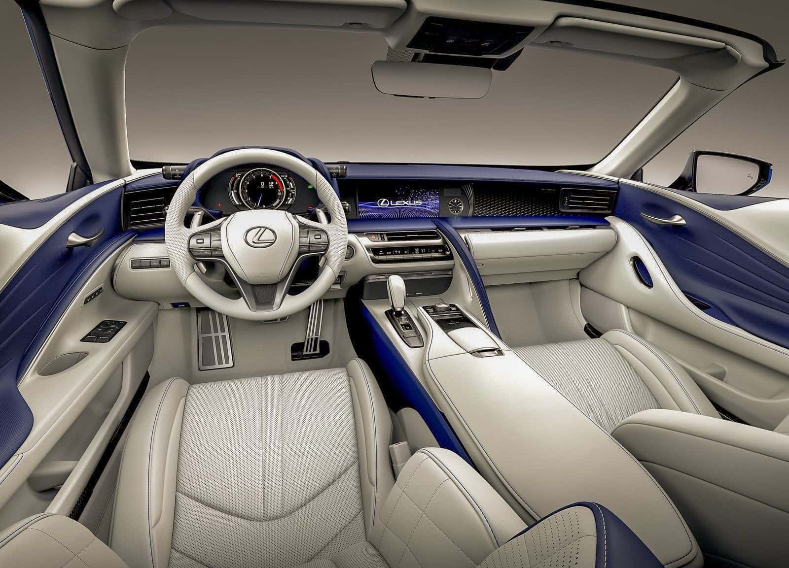 LC500 Convertible Dashboard