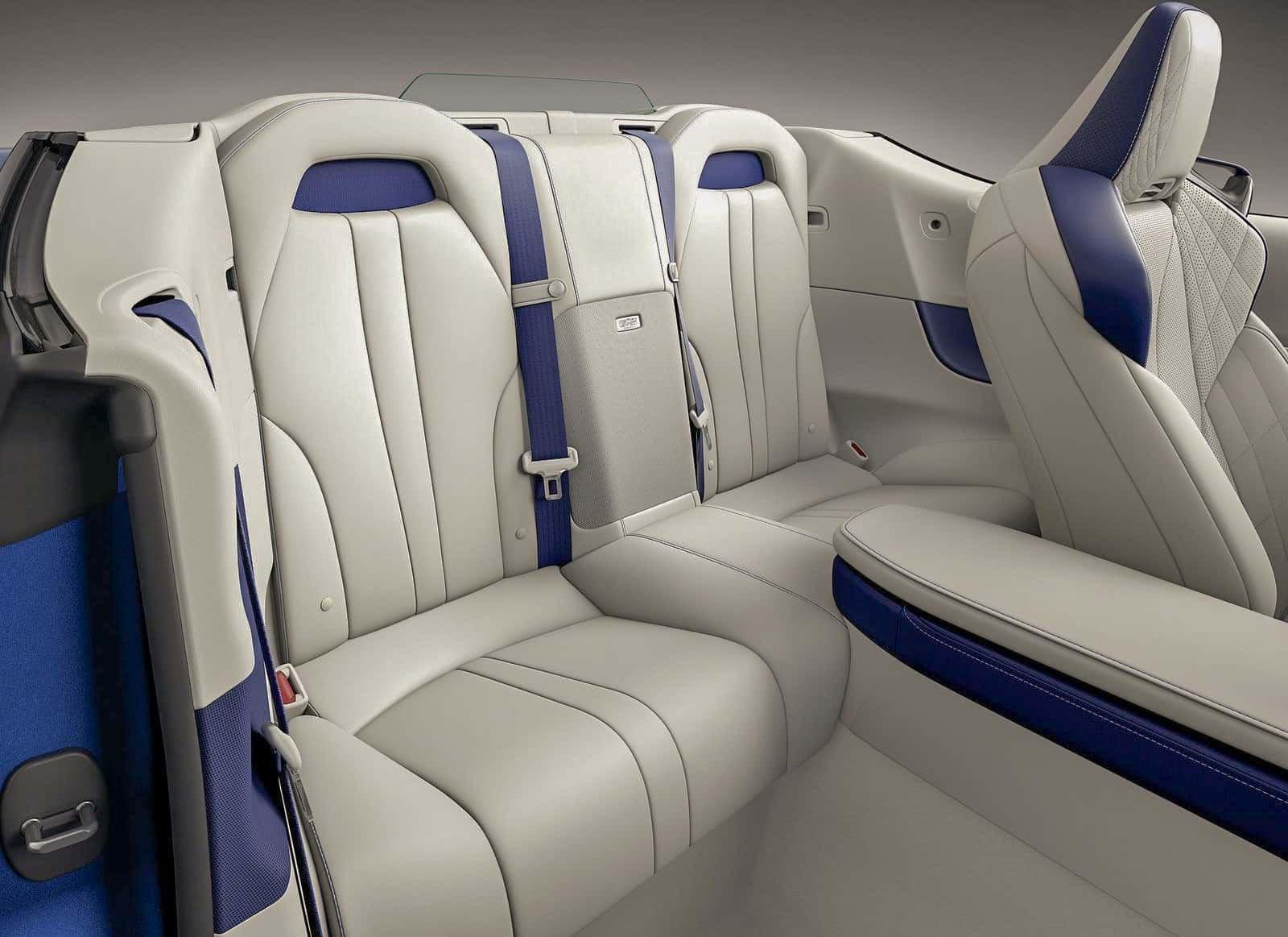 LC500 Rear Seats