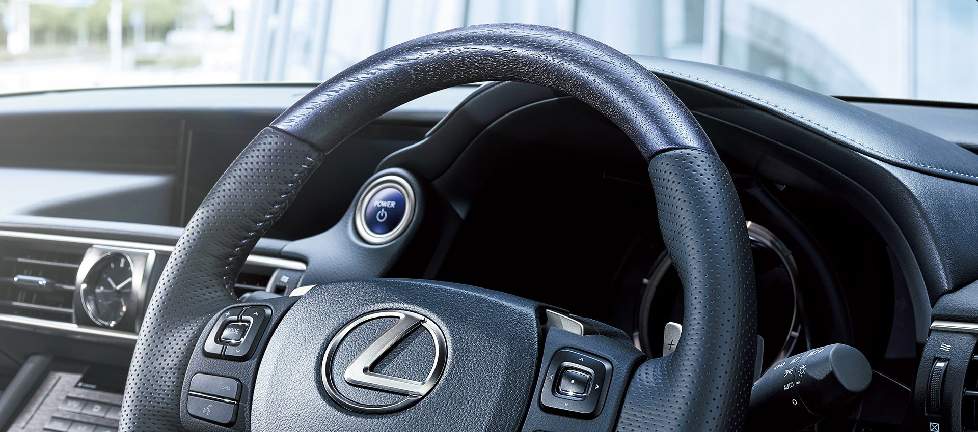 Steering Wheel from a Lexus ISF