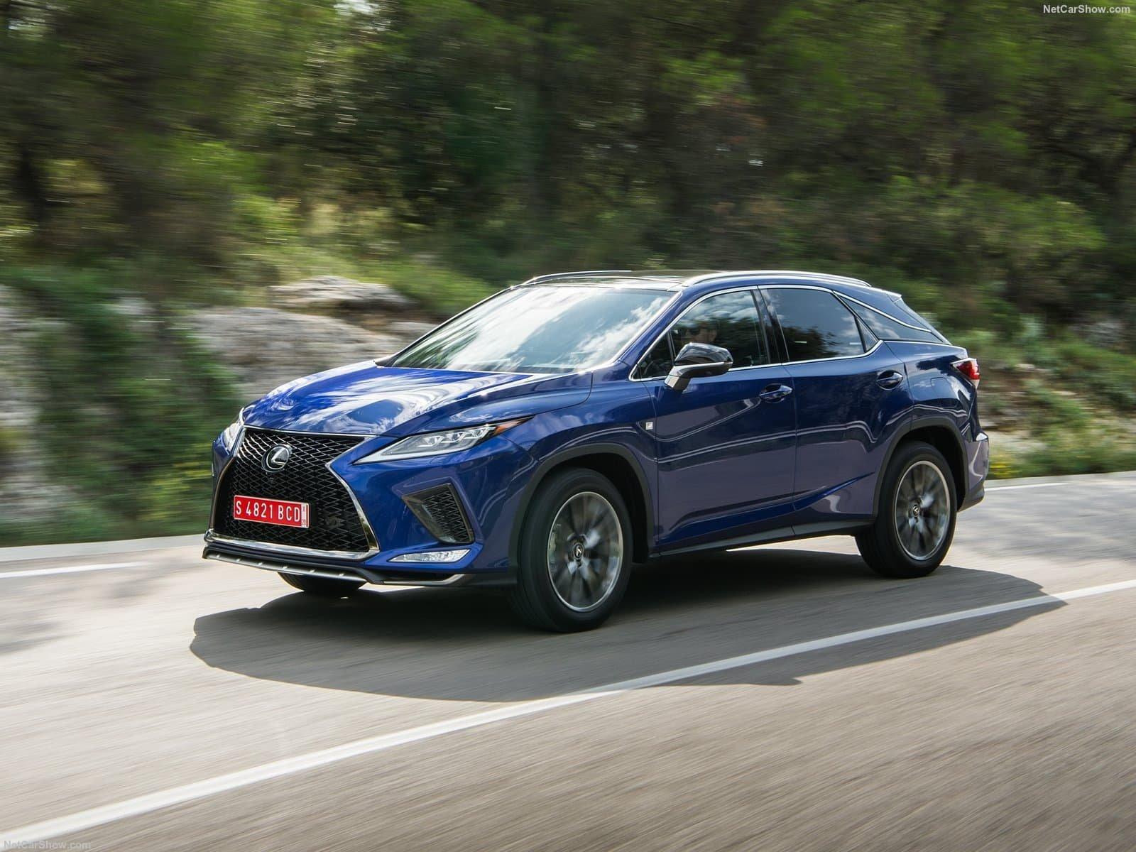 Lexus RX Blue Front 3/4