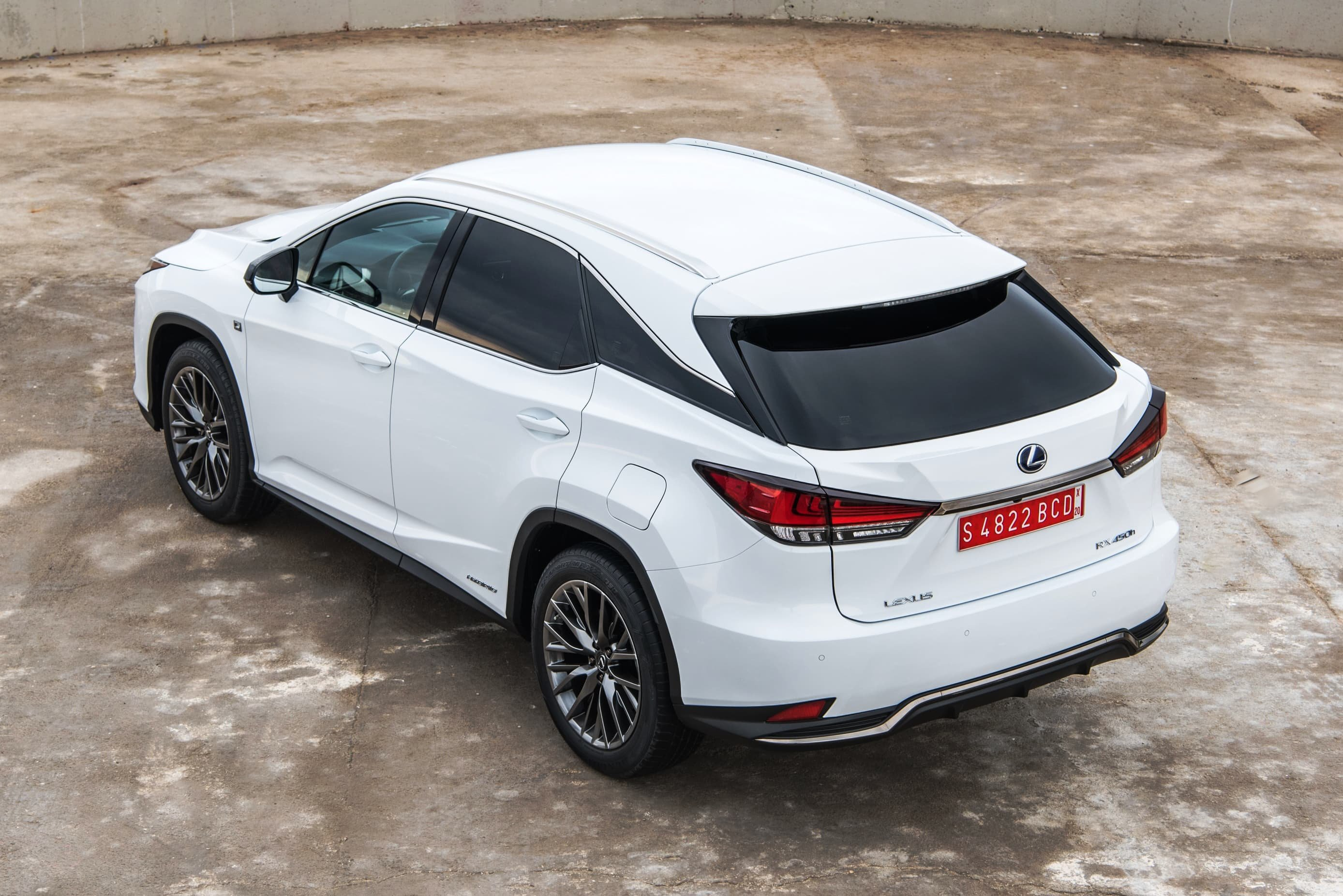 Lexus RX 3/4 Roof White