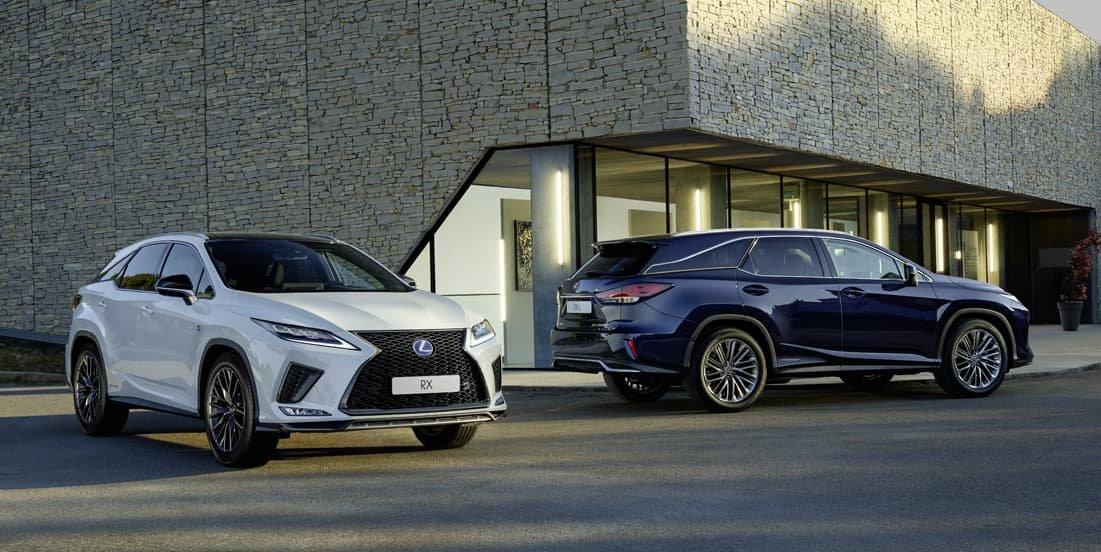 Lexus RX Group Shot