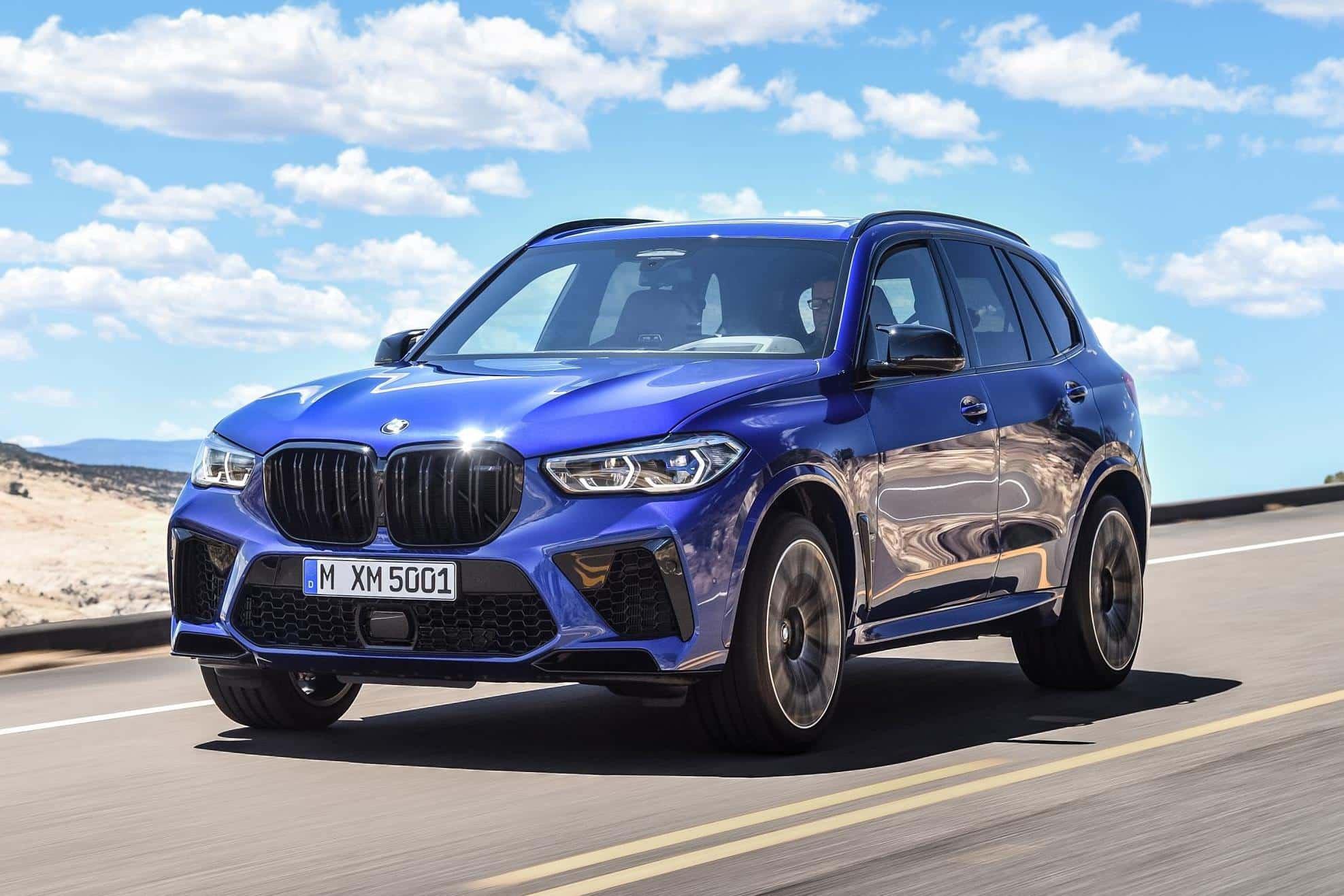 BMW x5 M Front