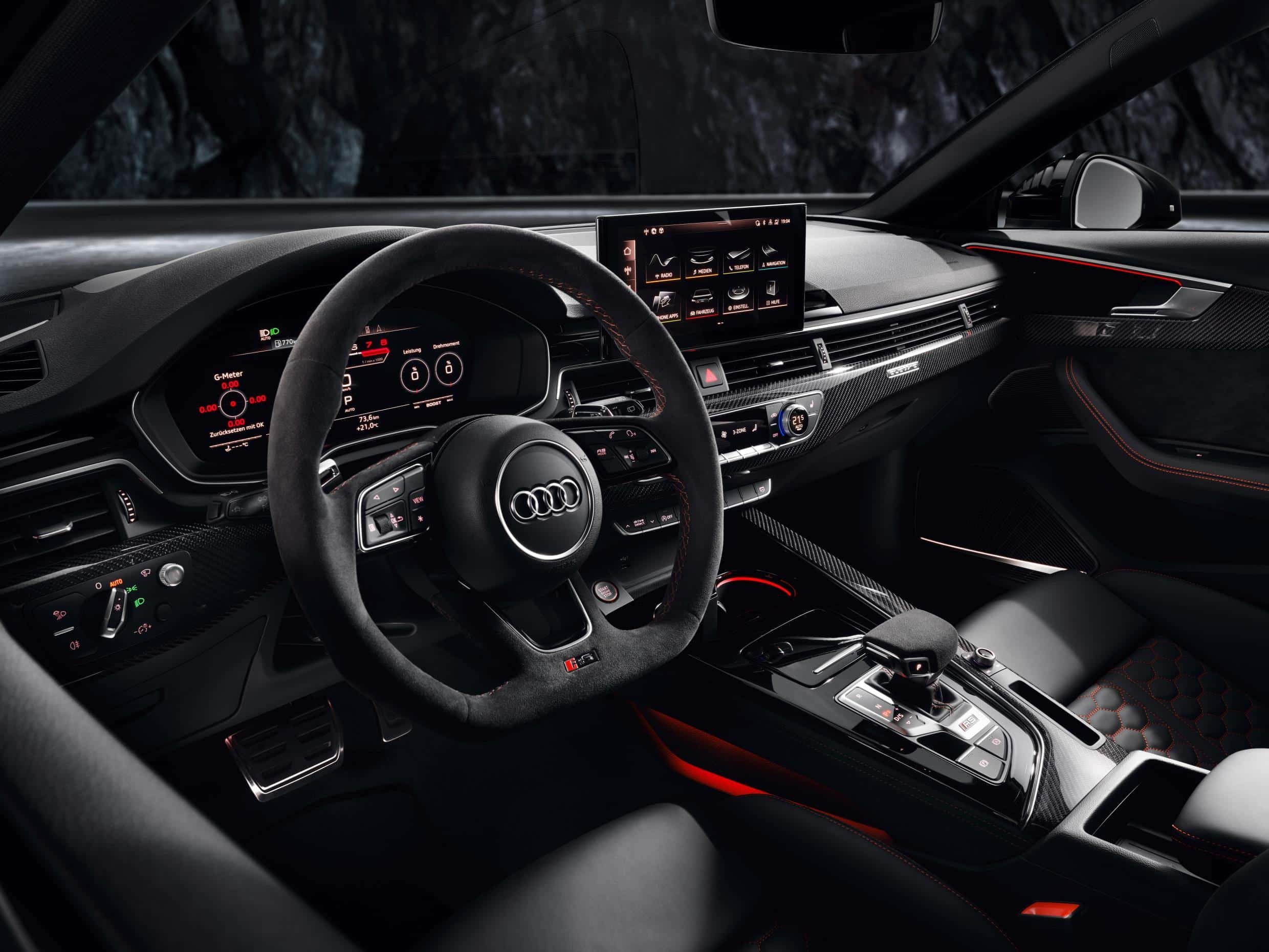 RS4 Dash and Interior