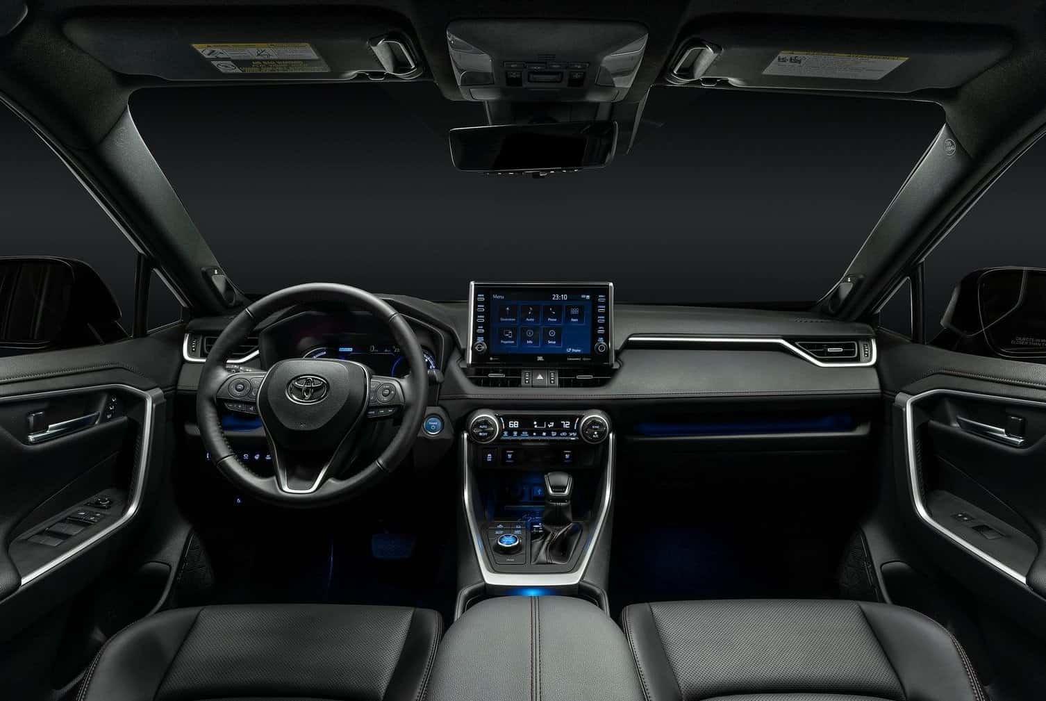 Rav4Phev Cockpit