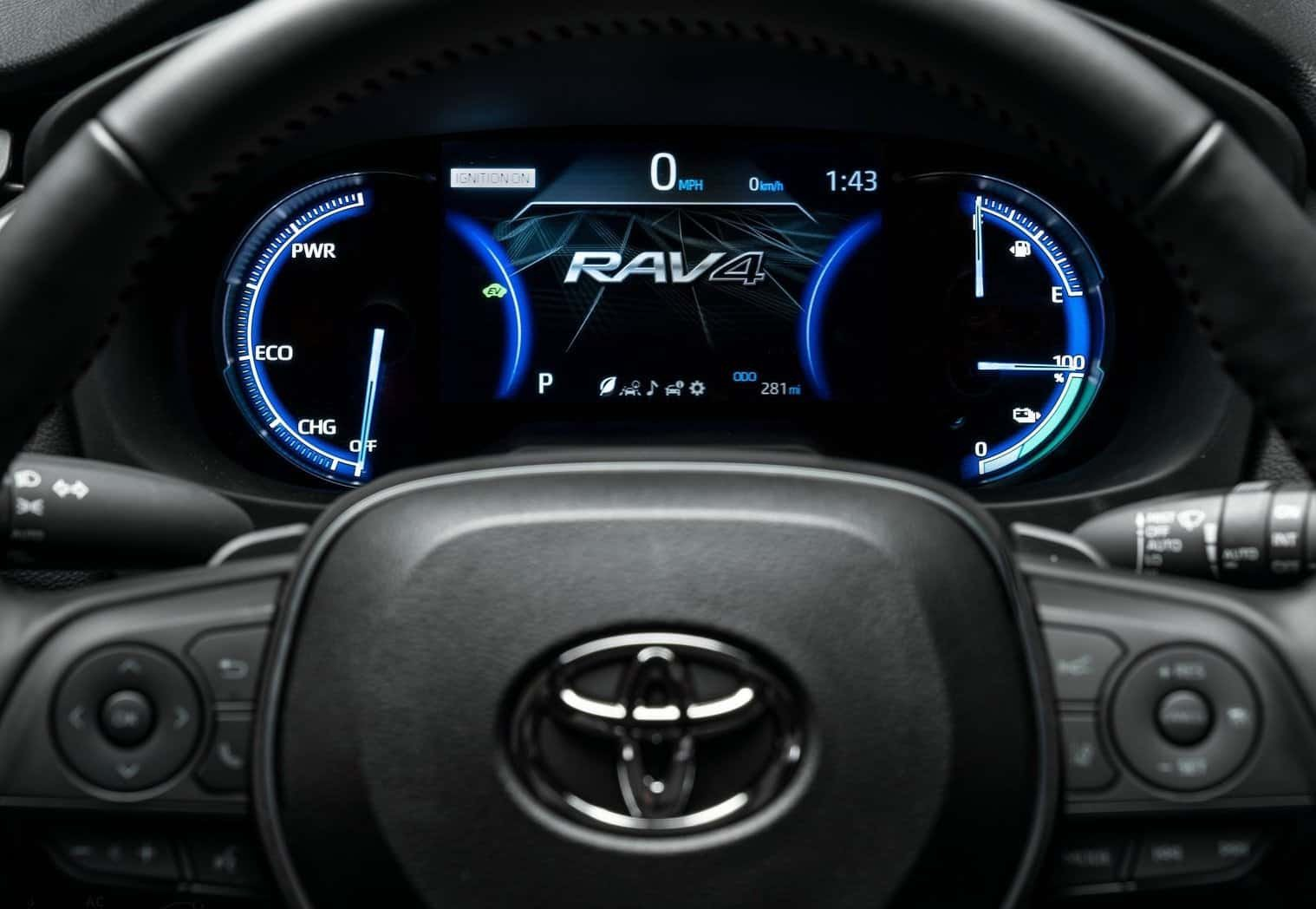 Rav4 Phev Dashboard