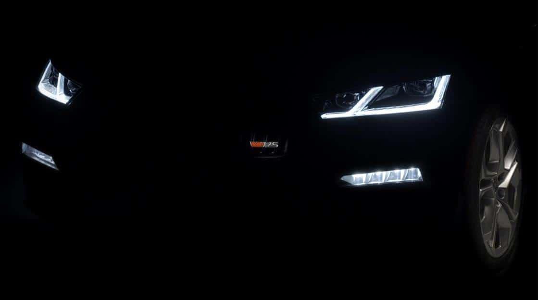 Skoda vRS Headlights