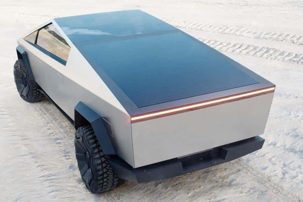 CyberTruck Rear Bed