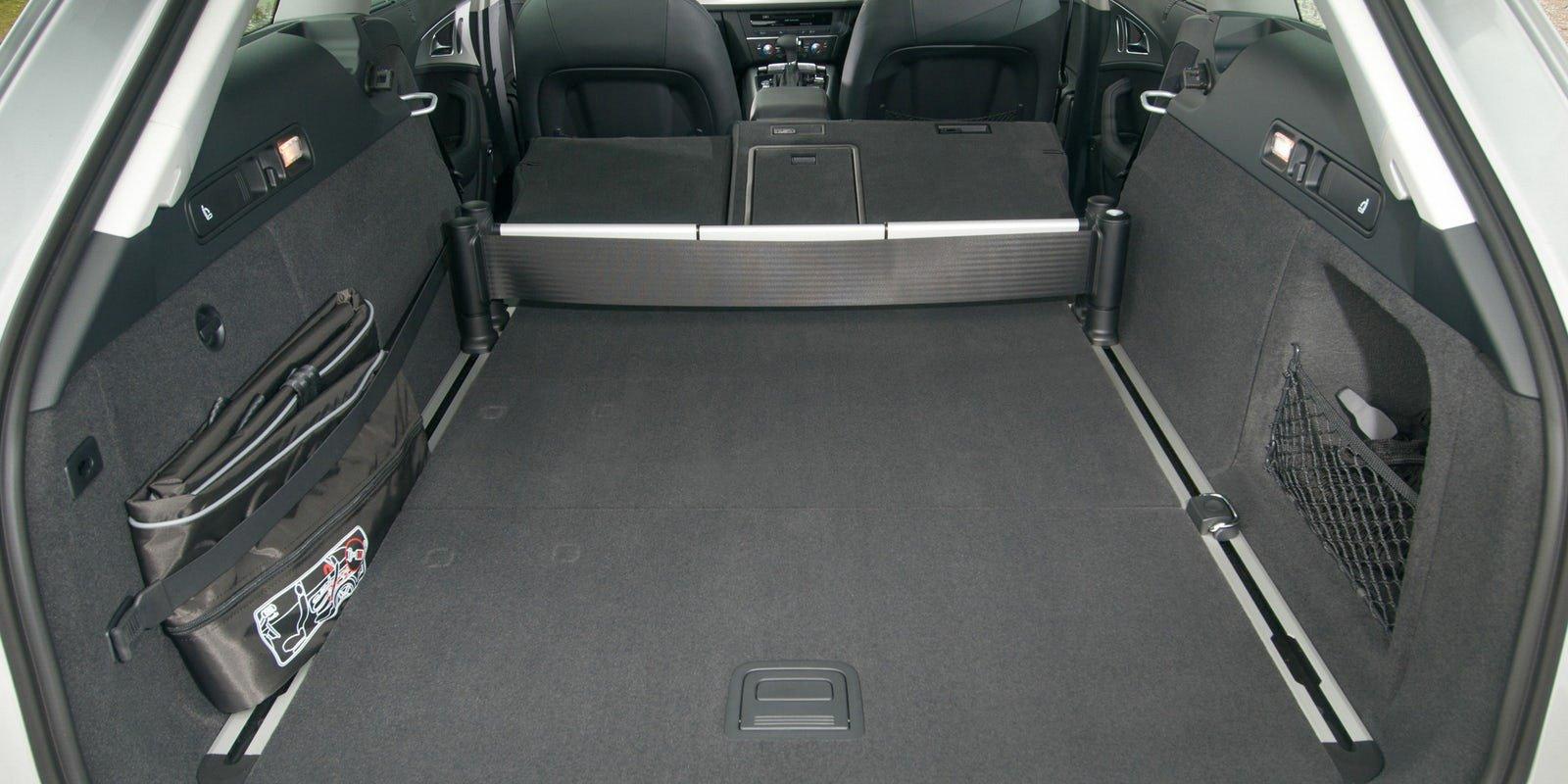 Audi A6 Avant luggage area