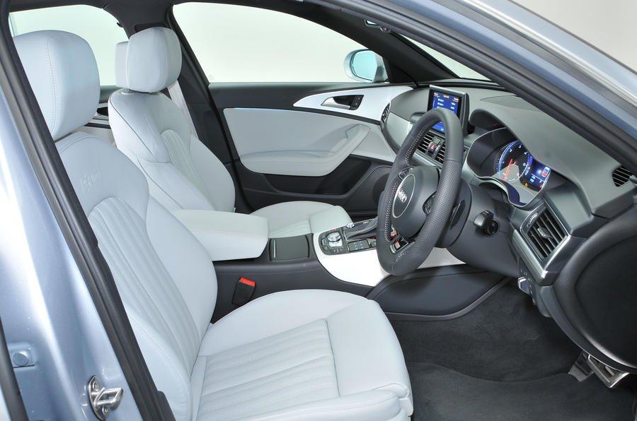Audi A6 Avant seats and dash