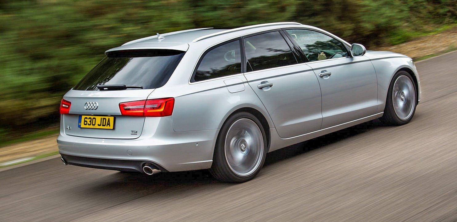 Audi A6 Avant side