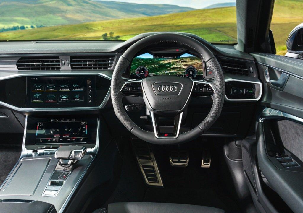 Audi A6 Avant dash