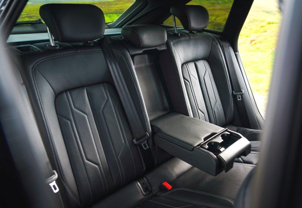 Audi A6 Avant rear seat