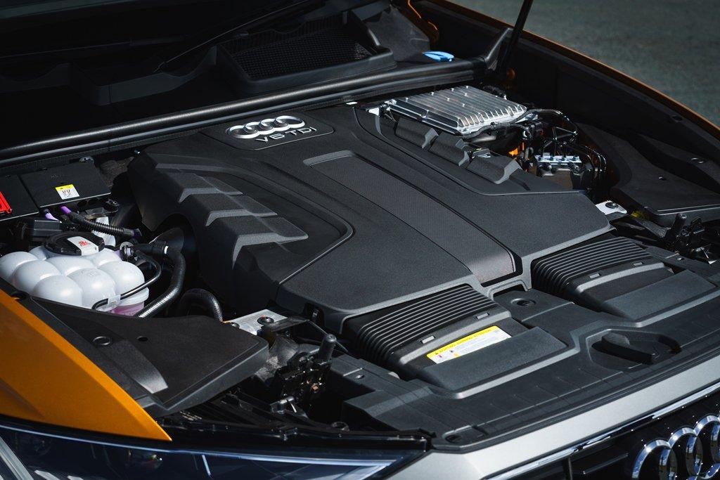Audi Q8 engine