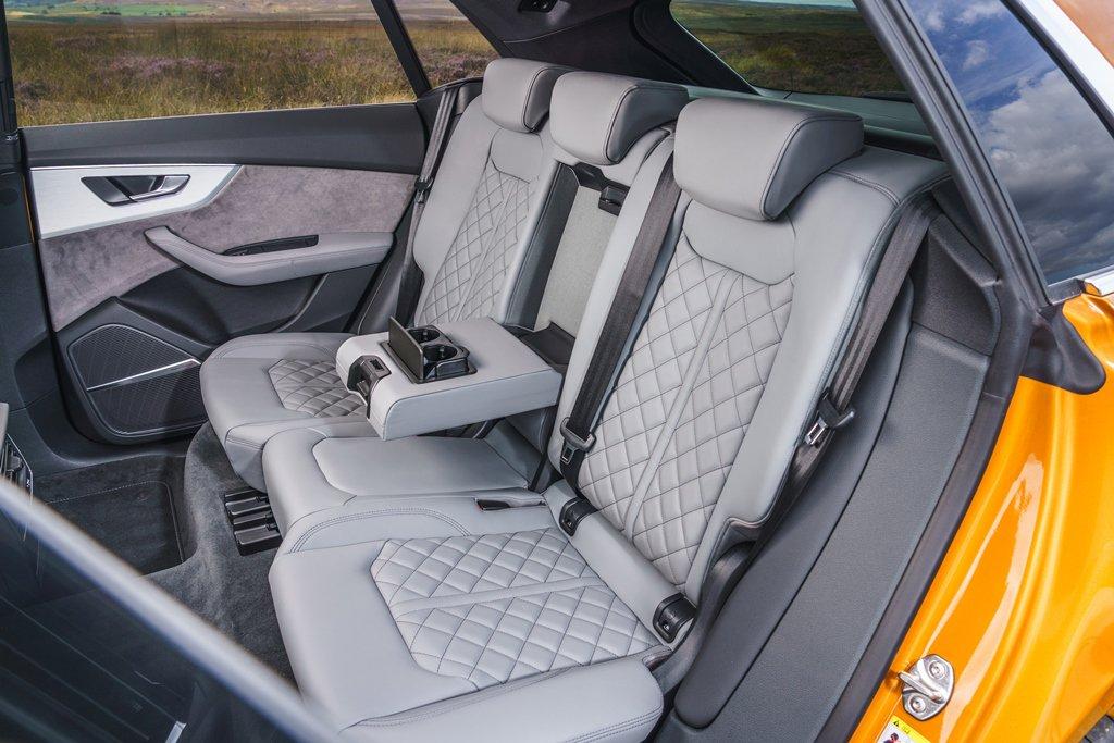 Audi Q8 Moorland rearseats