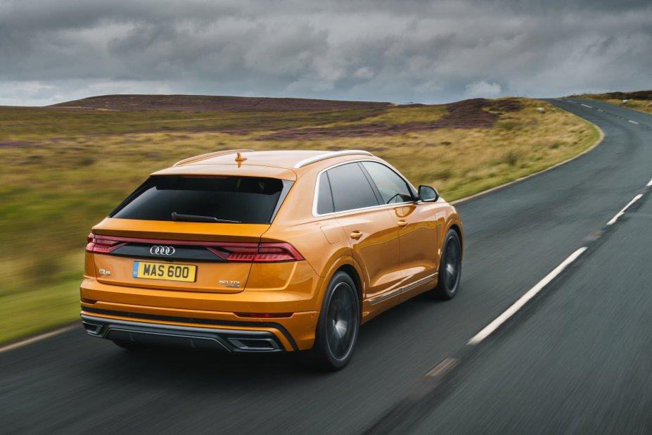 Audi Q8 Moorland driving