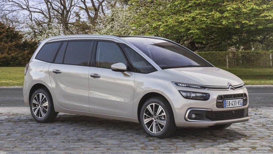 Citroën Grand C4 Picasso Front three quarter
