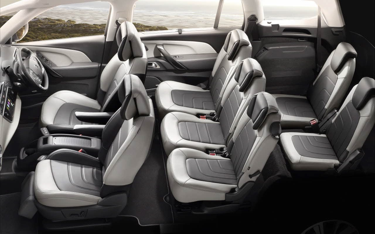 Citroën Grand C4 Picasso Seating